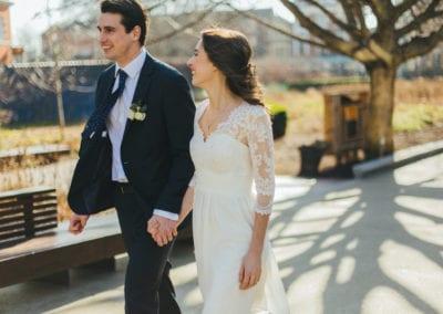 Southwark register office wedding, Charlotte & Matt