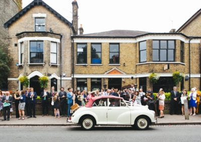 Balham Bowls Club Wedding, Sophia + Kristian