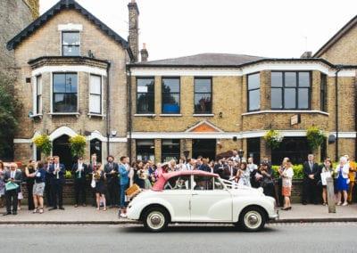 Balham Bowls Club Wedding, Sophia + Kristian