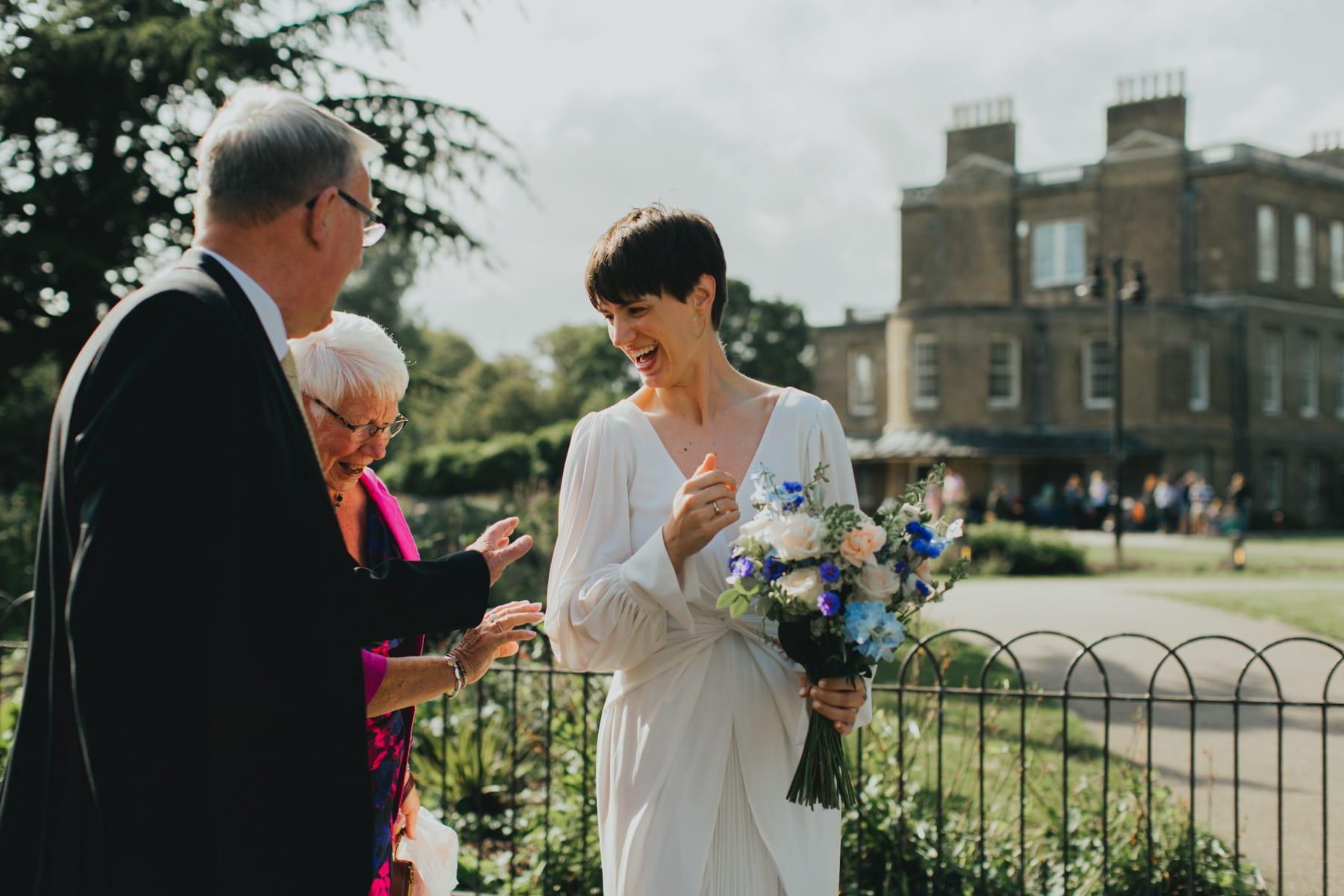 Clissold house wedding Stoke Newington London