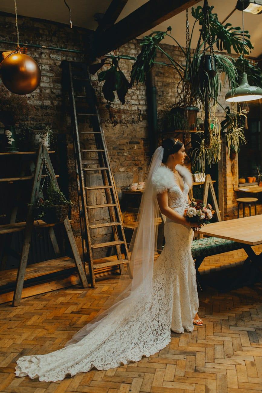 Tram Store Clapton Country Club Wedding by Katy & Co. Eco friendly photographer London